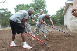 Rail Gunners help disabled veteran