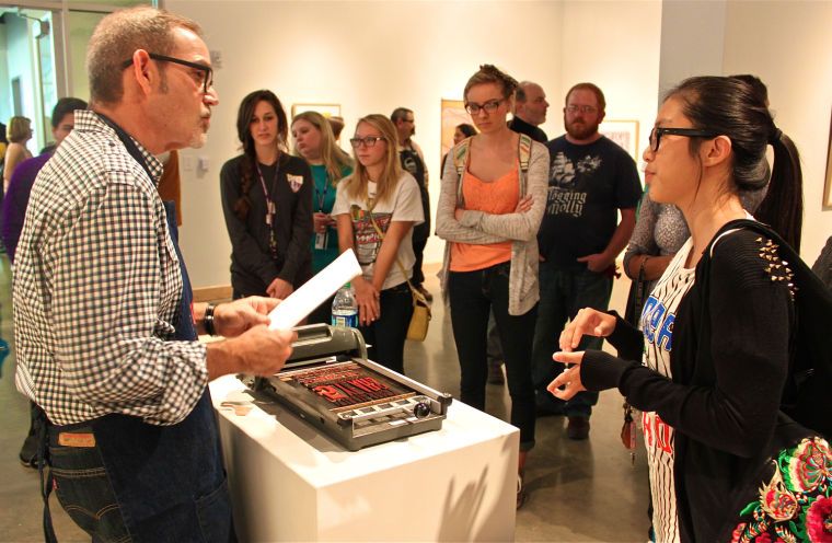 Letterpress exhibit