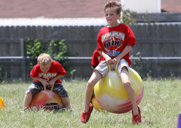 Martin Walker Elementary Field Day