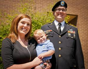 Staff Sgt. Patrick Zeigler and family exemplify resilience