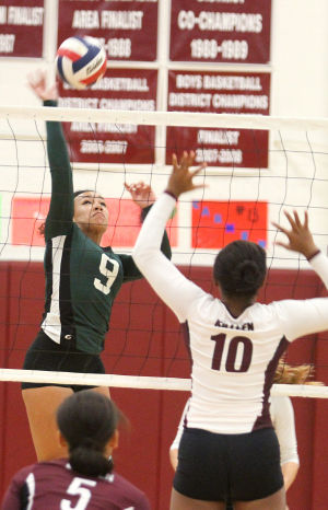 Volleyball: Killeen v. Ellison