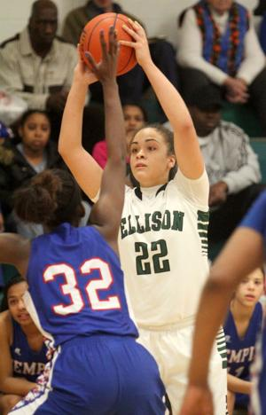 Ellison vs Temple Girls Basketball
