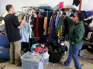 Living Here Clothing Donations