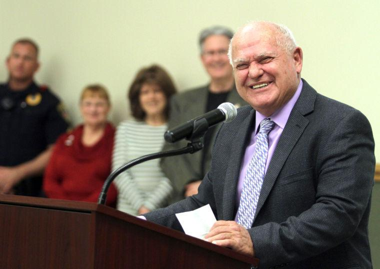 Longtime city manager bids staff, co-workers farewell