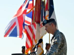 British general at Fort Hood