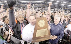 Killeen native finds success as head football coach at Aledo