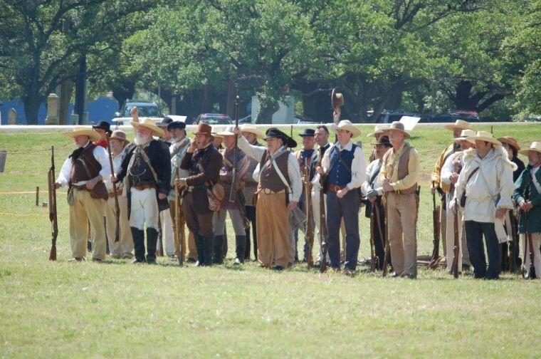 Battle of San Jacinto re-enactment