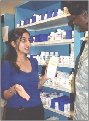 Darnall Pharmacy Dept. wins prestigious awards