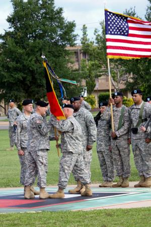 120th Infantry Brigade change of command