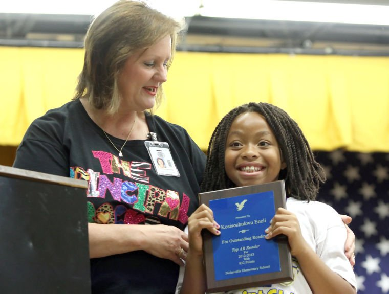 Nolanville top readers honored