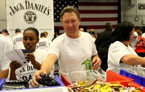 USO & Jack Daniels Create Care Packages