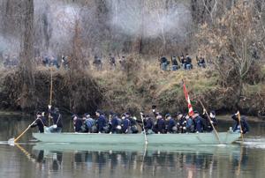 Re-enactment at Fredericksburg