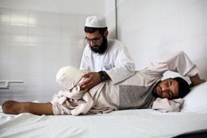 Afghan amputees