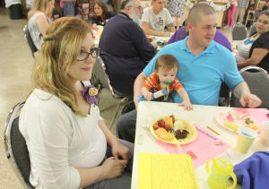 Texas American Legion Auxiliary hosts a Baby Shower