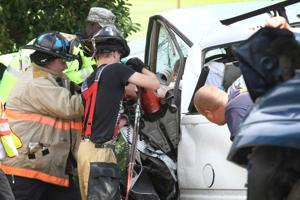 Two car collision on Farm-to-Market 439