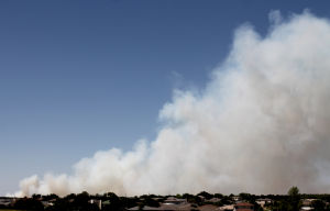 Fort Hood Fire Grass Fire