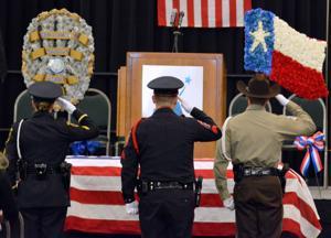Dinwiddie memorial service