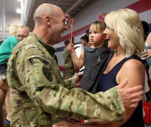 163rd Military Intelligence Battalion Homecoming