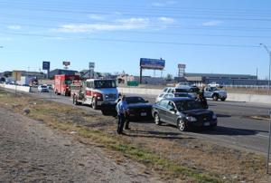 Multivehicle accidents stall traffic on U.S. 190