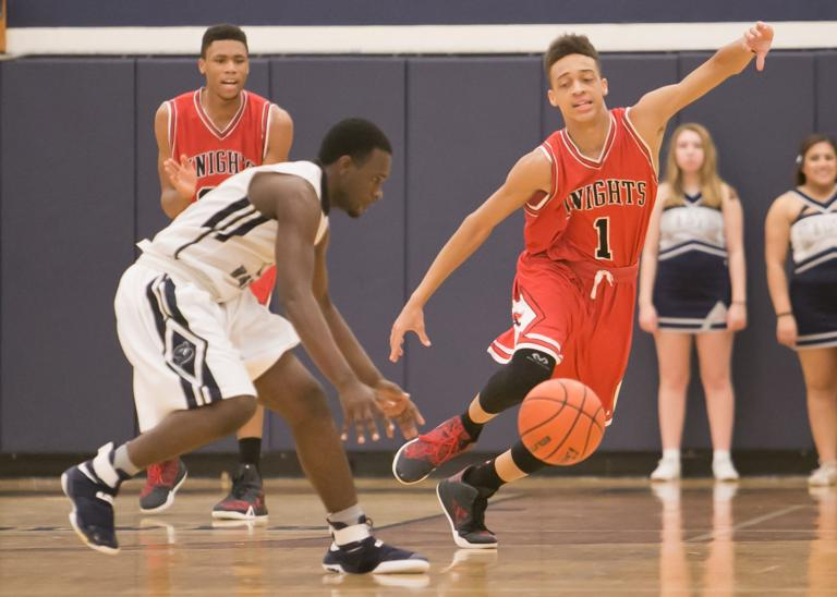 8-6A BOYS BASKETBALL: Wolves on target in 2nd half, beat Knights 66-55