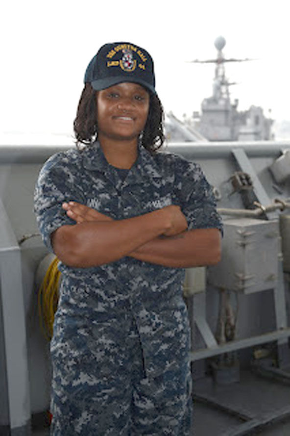 Cove High grad serving nation on the high seas