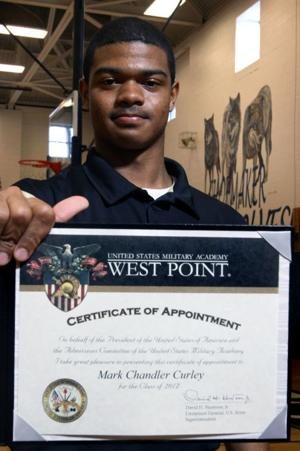 Shoemaker's Curley signs with West Point