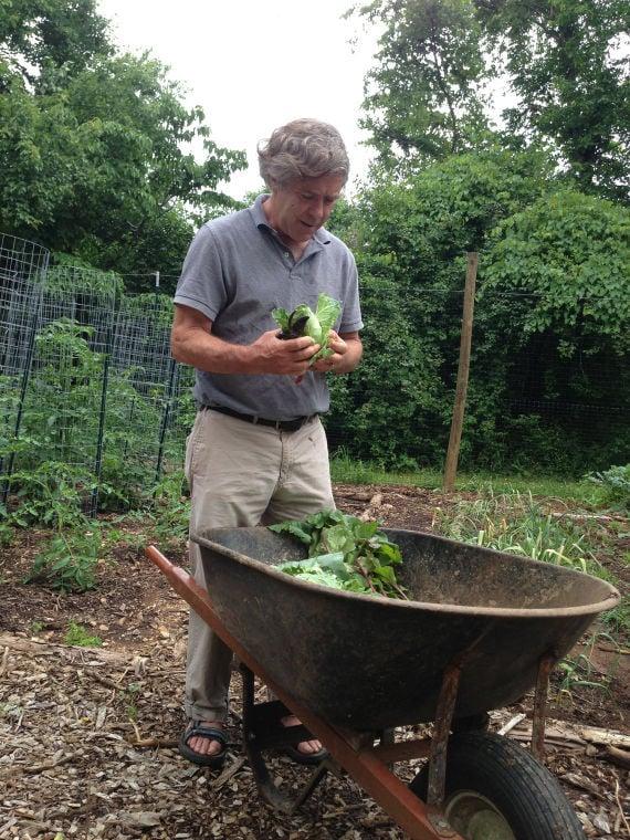 Jefferson as gardener