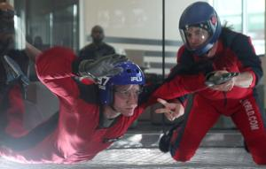 Soldier free fall training