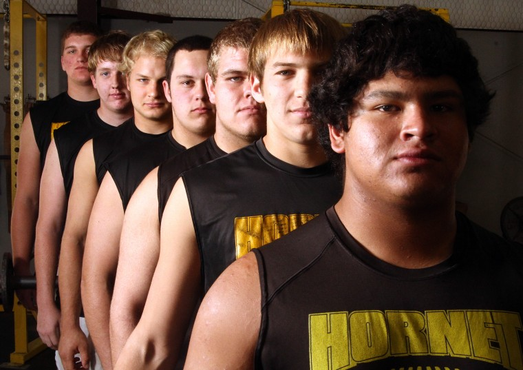 Gatesville anchored by O-line