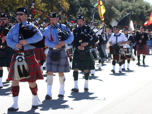 Scottish clans gather in Salado