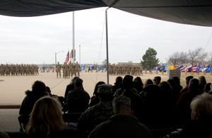 III Corps Uncasing Ceremony
