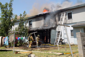 Killeen apartment fire