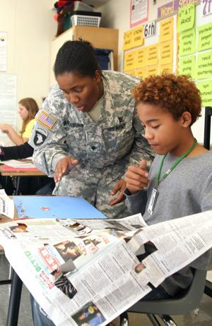 III Corps Phantoms tutor at EHMS