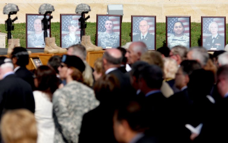 Fort Hood Shooting Funeral Service