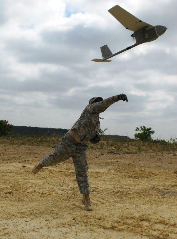 Rail Gunners train with Ravens