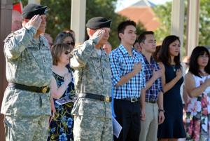 Fort Hood Retirement Ceremony