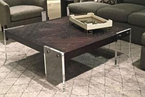 See-through furniture is a clear favorite with designers, customers
