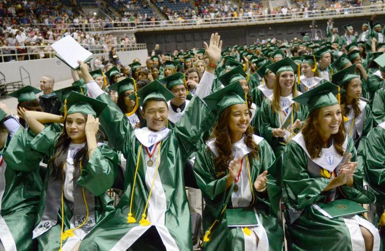 Ellison High graduation