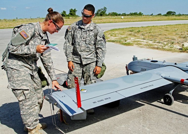 Assassins train on new unmanned aerial vehicle