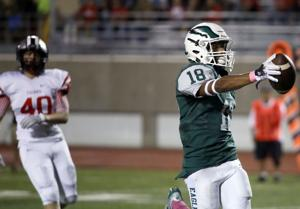 FOUR SCORERS: With Gwynn stepping up, Eagles boast four top receivers