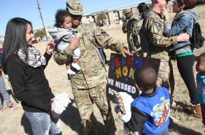 2nd Brigade Combat Team homecoming
