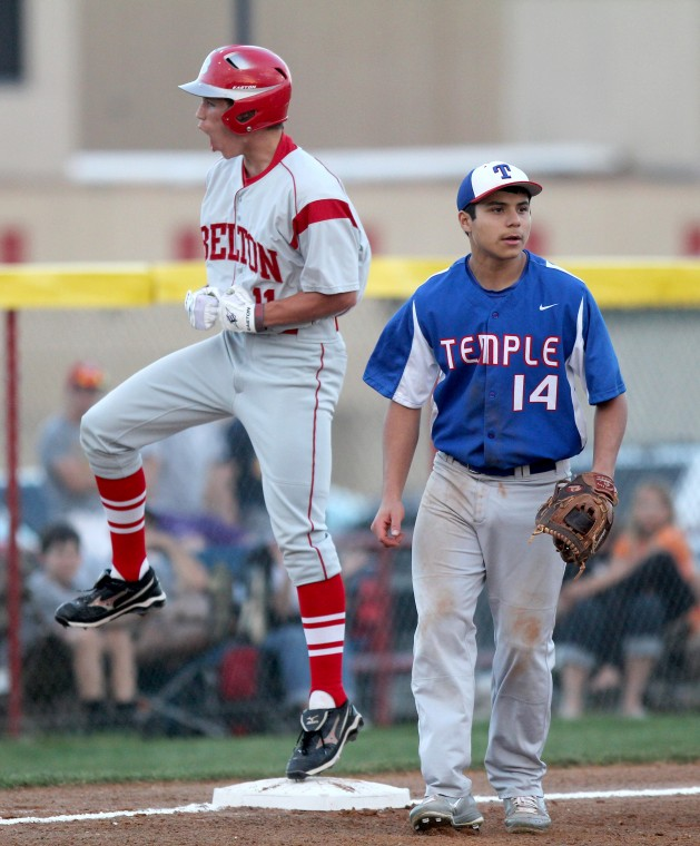 Year in Photos - Belton v Temple Baseball