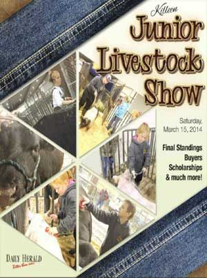 The 2014 Killeen Junior Livestock Show Publication with the final standings, buyers, scholarships and much more.