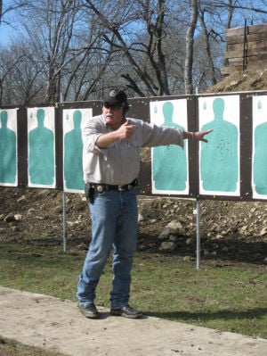 Concealed handgun training