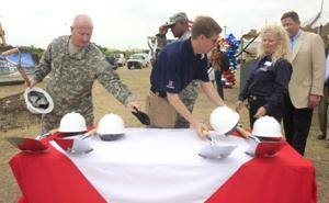 Army and Air Force Exchange Service Exchange Mall Groundbreaking