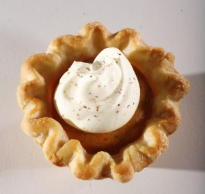 Mini pumpkin pie