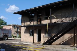 Summer Park Apartments fire