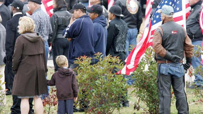 Funeral service for Spc. Jason Hunt