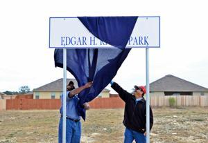 Cove New Park Dedication
