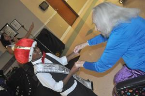 Rabbit Fest royalty brings smiles to elderly, represents community at Spur Fest